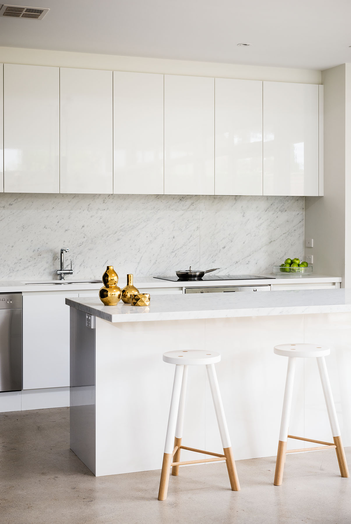 New House Range Hood And Minimalist Kitchen Design Classy Glam Living